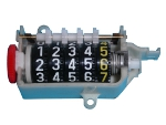 injection moulded mile counter