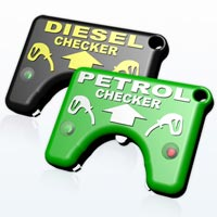 hot foil printed fuel checkers